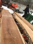 Red oak slab